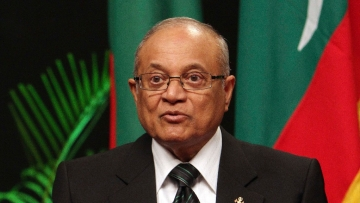 Along with Gayoom, Chief Justice Saeed and Justice Hameed have received sentences of 19 months as well.