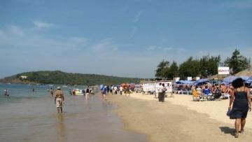 File image of Baga beach in North Goa.