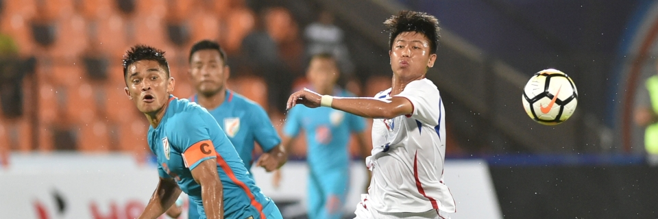 Intercontinental Cup: Chhetri's Hat-trick Helps India Beat