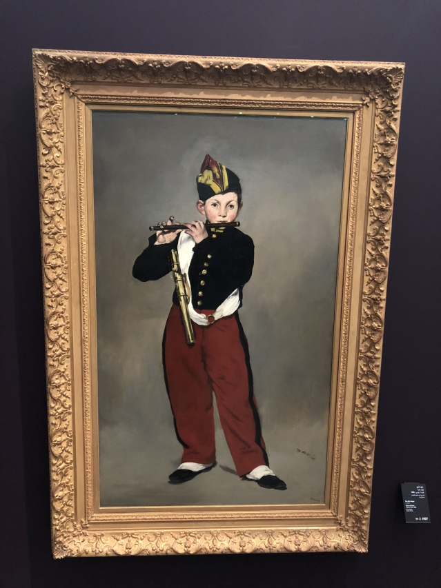 Edouard Manet's 'The Fife Player', 1856