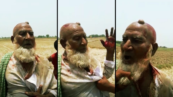 New video from Hapur lynching shows a man being abused and assaulted over suspicion of cow slaughtering.