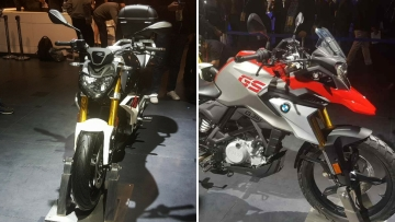 BMW has set the booking amount at Rs 50,000 for both bikes.