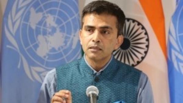 Official Spokesperson of Ministry of External Affairs Raveesh Kumar.