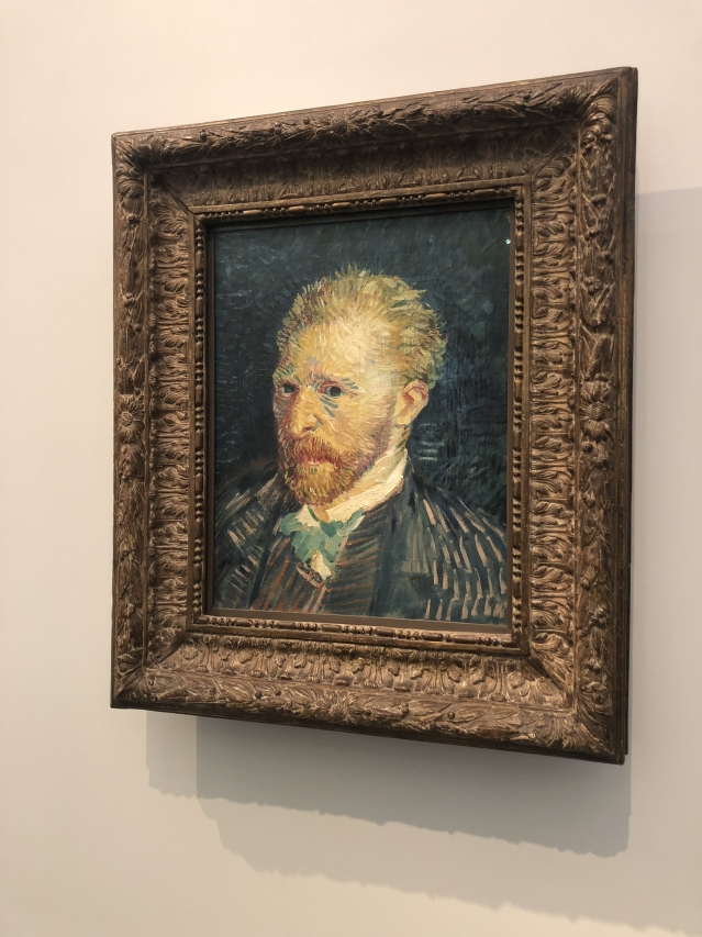 Vincent Van Gogh's iconic 'Self Portrait' from 1887.