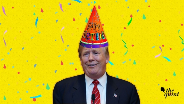 It's Donald Trump's 72nd birthday on Thursday, 14 June.