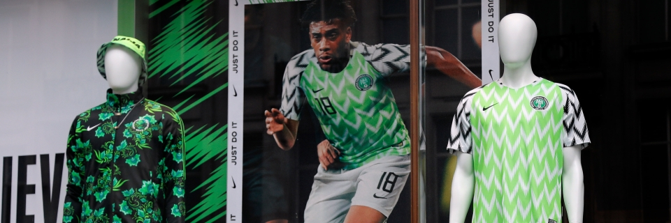 competitive price 2f98b 6e95b Nigeria's Bright, Trippy Jersey a Hit Among World Cup ...