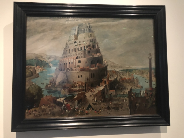 Tower of Babel, Abel Grimmer, 1595.