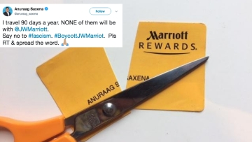 Marriott Faces Pushback After Sacking Chef For Anti-Islam Tweet