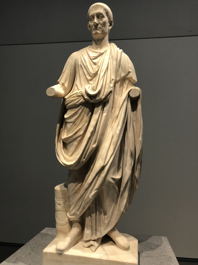 The Roman Orator from 1 BCE.