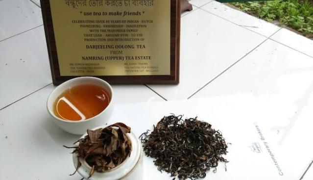 Namring tea estate recently celebrated 25 years of growing Oolong tea in Darjeeling.