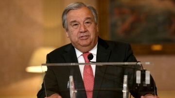Antonio Guterres is the former Prime Minister of Portugal and also headed a UN refugee agency.