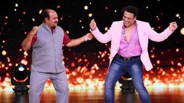 Internet's favourite Dancing Uncle shakes a leg with his favourite Govinda.
