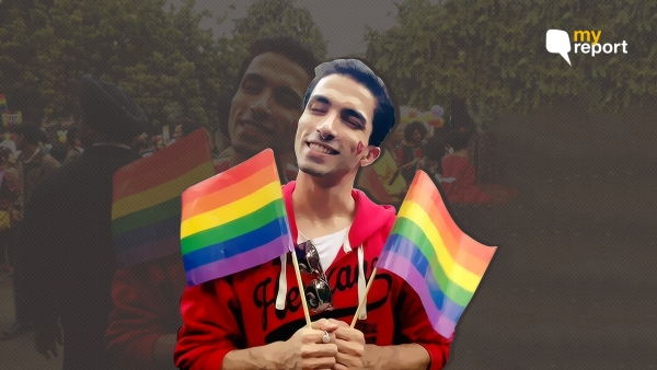 Anurag Dubey is an openly gay man who was assaulted by Delhi police for hugging his trans friend.