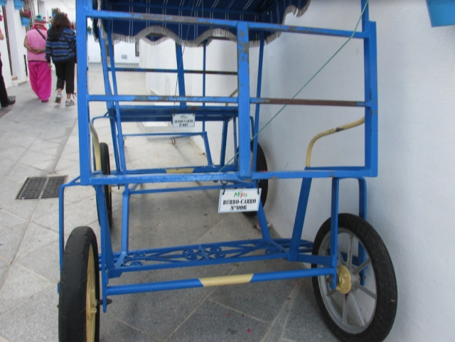 Mijas donkey cart.