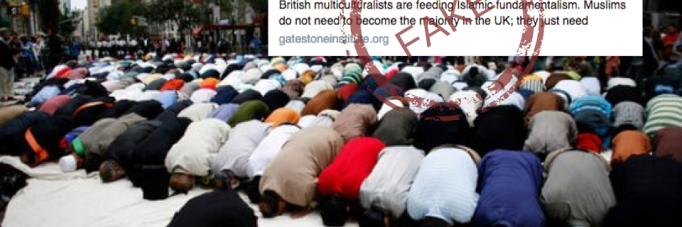 Did London Close 500 Churches & Open 423 Mosques? No, Fake News