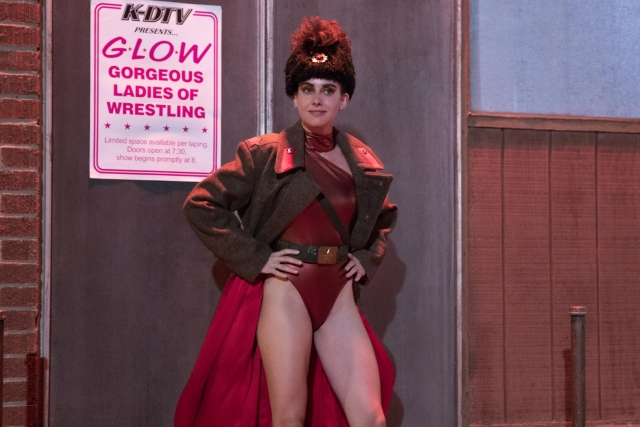 A still from<i> Glow 2. (Photo: Netflix)</i>