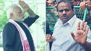 PM Modi Misled People on the Floor of Parliament: CM Kumaraswamy
