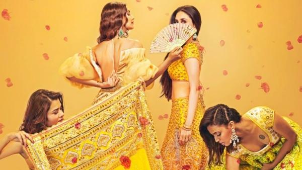 A poster of <i>Veere Di Wedding</i>.