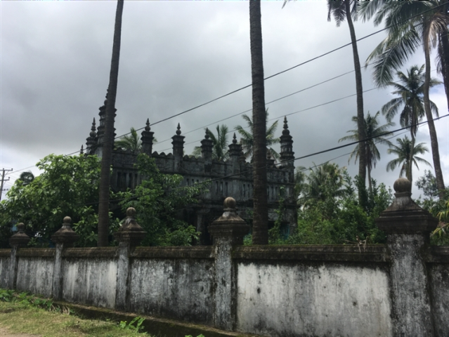 A mosque in Sittwe, Rakhine state, that was torched and damaged in the 2012 conflict.