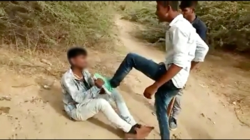 The Dalit boy was thrashed by four boys who asked him about his caste.