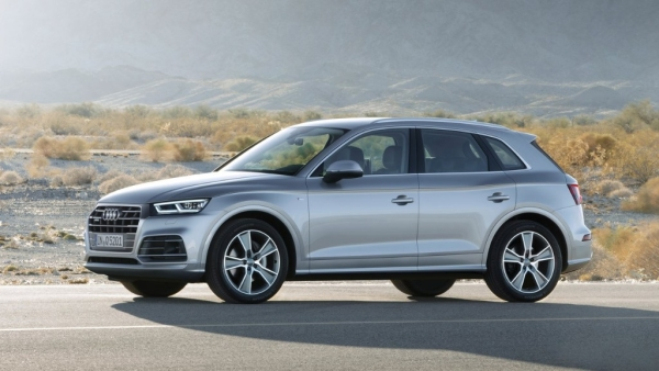 The 45 TFSI used on the Q5 is the most powerful engine in its class, according to Audi.