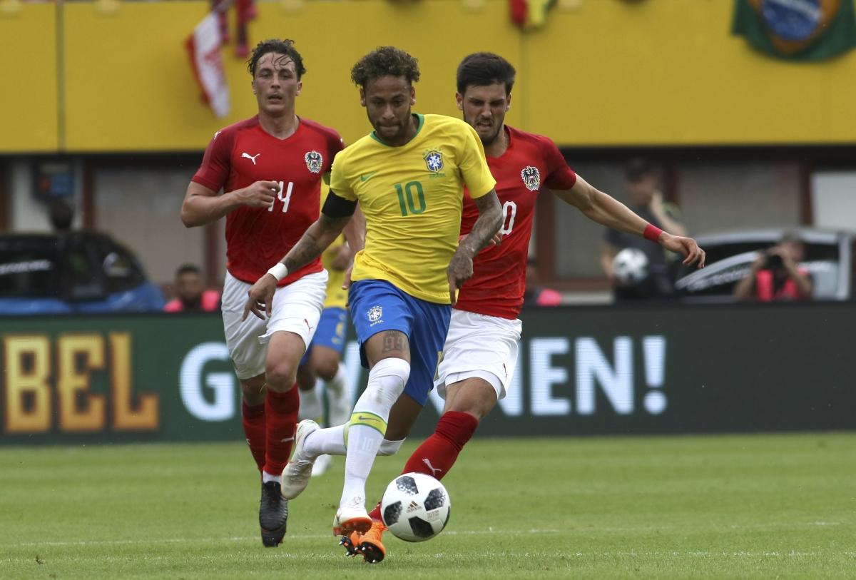 904ce24f7 FIFA World Cup 2018 Warm-up  Neymar Goal Caps Brazil s 3-0 Win Over ...