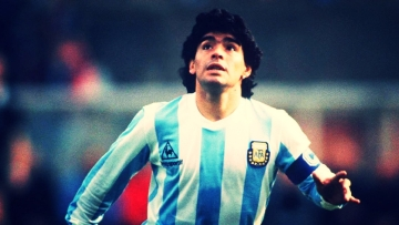 File photo of Diego Maradona.