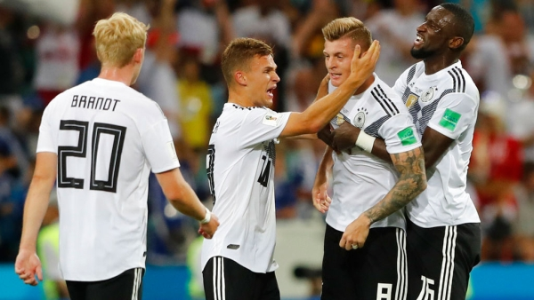 Watch Kroos' Classic Late Winner vs Sweden to Help Germany Hang On