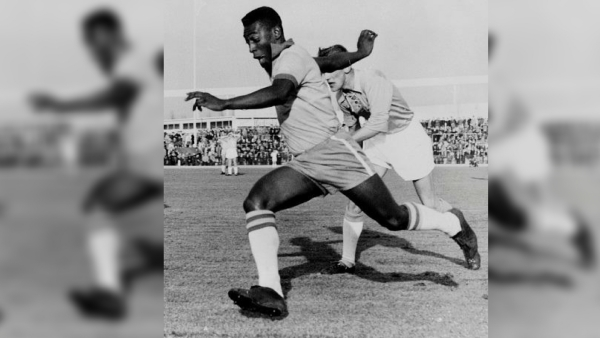 Flashback: Brazil Legend Pele in Action Ahead of 1966 World Cup