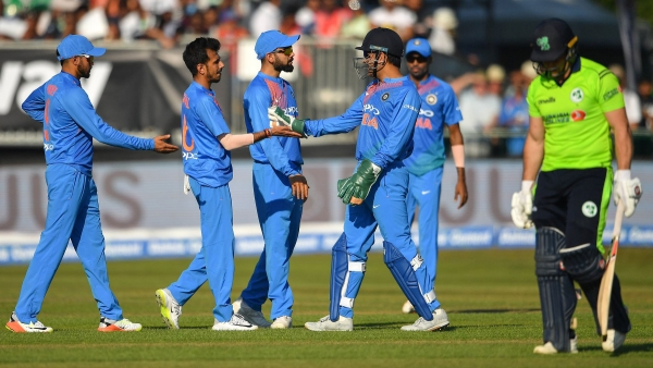 The Indian team celebrated the occasion of its 100th T20 International match with a comprehensive win over Ireland.