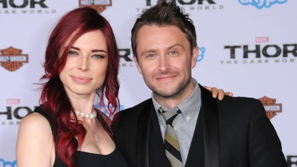 Chris Hardwick and Chloe Dykstra in happier times.