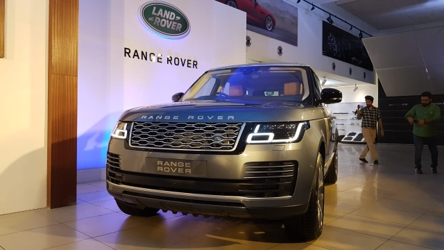 The Range Rover is priced between Rs 1.75 crore and Rs 3.88 crore.