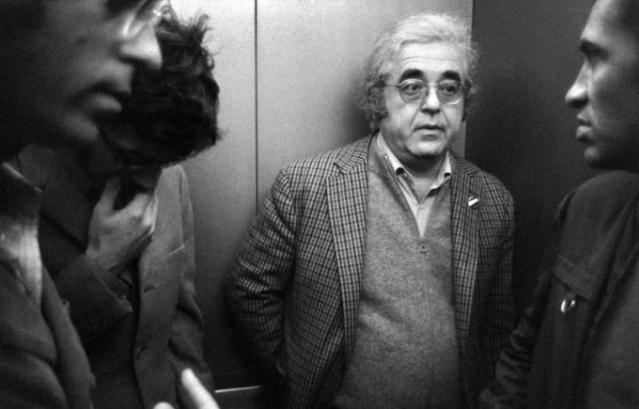Albert B Grossman (centre).