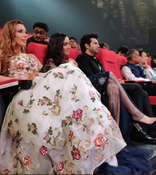 Iulia Vantur, Shraddha Kapoor and Varun Dhawan at IIFA Rocks