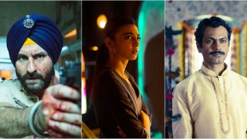 Saif Ali Khan, Radhika Apte and Nawazuddin star in 'Sacred Games'.