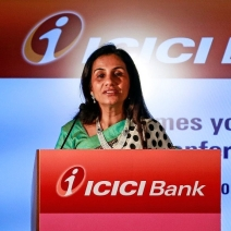 ICICI MD and CEO Chanda Kochhar.