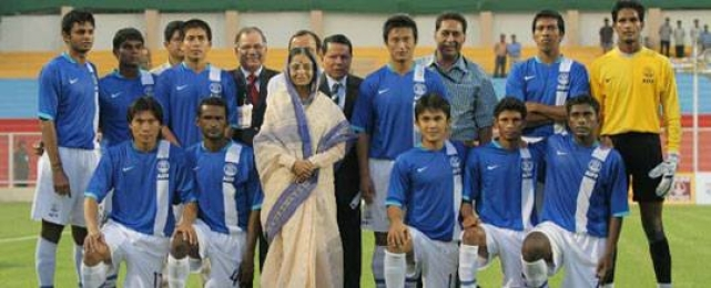 Sunil Chhetri had starred in India's journey to their maiden Nehru Cup trophy in 2007.