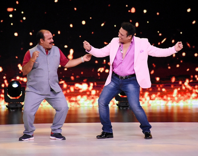 Sanjeev Shrivastava and Govinda bring the house down with their dance moves.