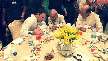 This is the first iftar party Rahul Gandhi is hosting after taking over as Congress chief earlier this year.