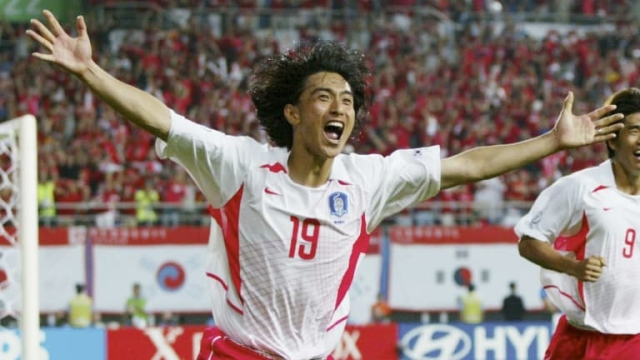 Korean footballer Ahn Jung-Hwan.
