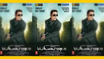 Kamal Haasan's look in<i>Viswaroopam 2</i>.