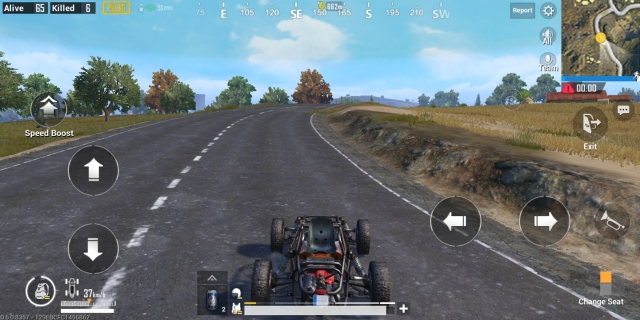 You can also drive cars and other vehicles in the game.