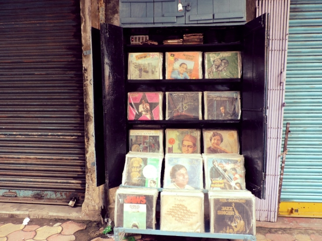Vibrations - the record shop dating back seven decades.