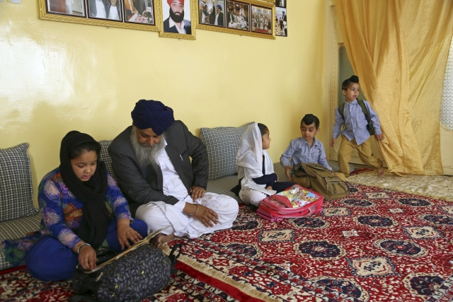 Khalsa is survived by his wife and four children.