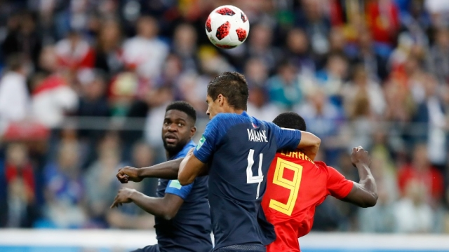 The French defense, led by Raphael Varane, neutralised Belgium's much-hyped attack