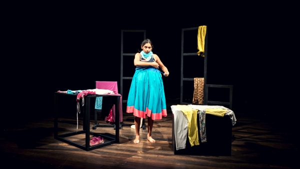 Mallika Taneja on stage.