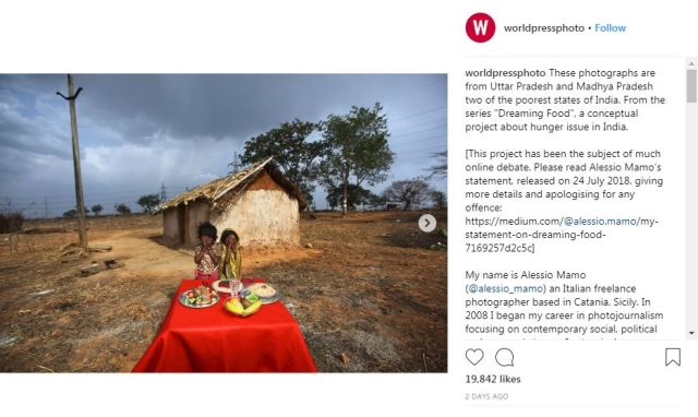 Instagram post originally shared on <i>World Press Photo</i>'s Instagram.