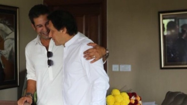 Wasim Akram was one of the most vocal supporters of Imran Khan's party Pakistan Tehrik-e-Insaf (PTI) during elections in Pakistan.