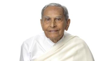 Spiritual leader Dada JP Vaswani.