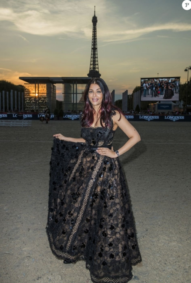 Aishwarya Rai during her photo shoot in Paris.